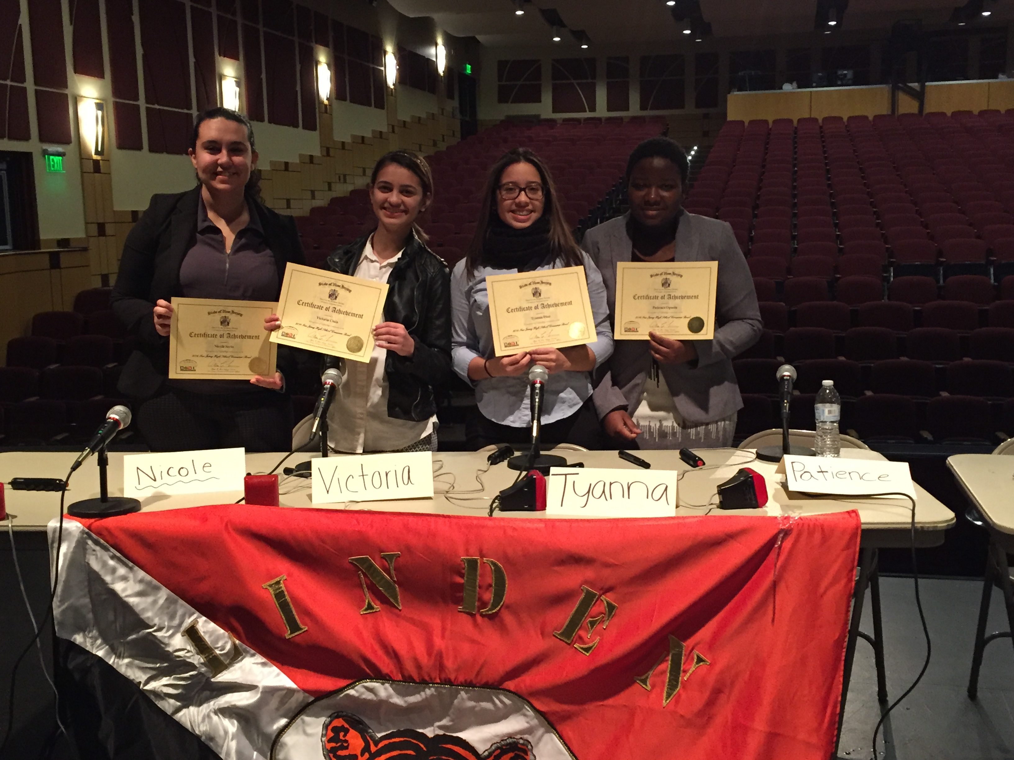 Congratulations to LHS Consumer Bowl team for 2nd place win in Union County