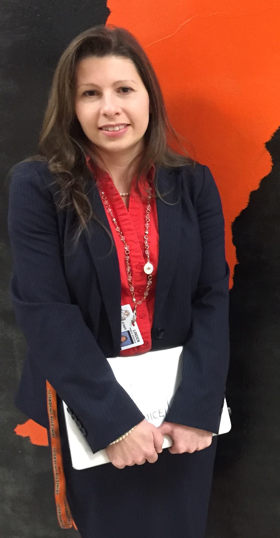 Mrs. Monica Goncalves has been recently selected as Linden High School's 2015-2016 Teacher of the Year