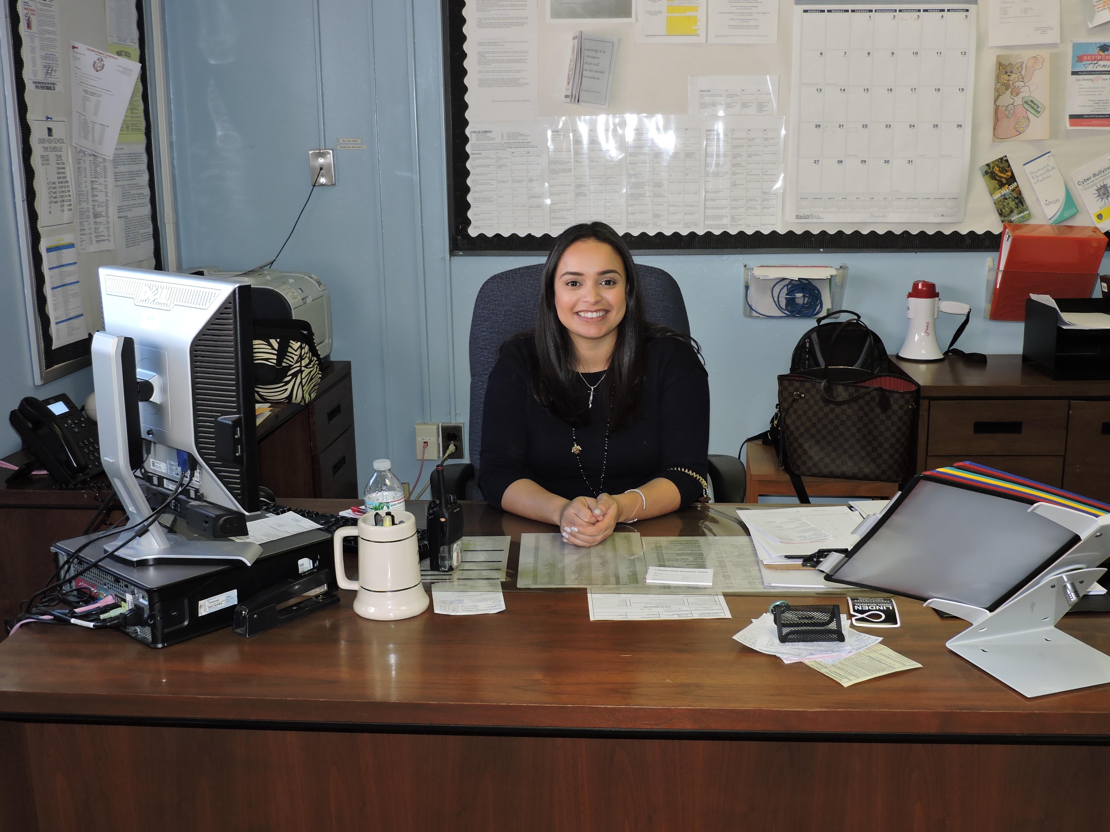 Lizzie Ortiz - Linden High School Vice Principal