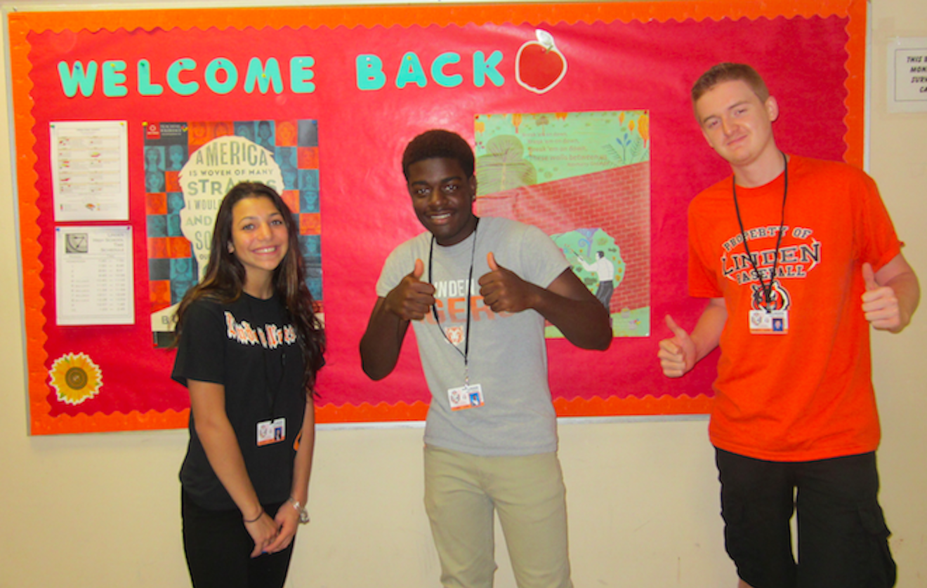 Linden High School seniors are excited for the start of a new school year!