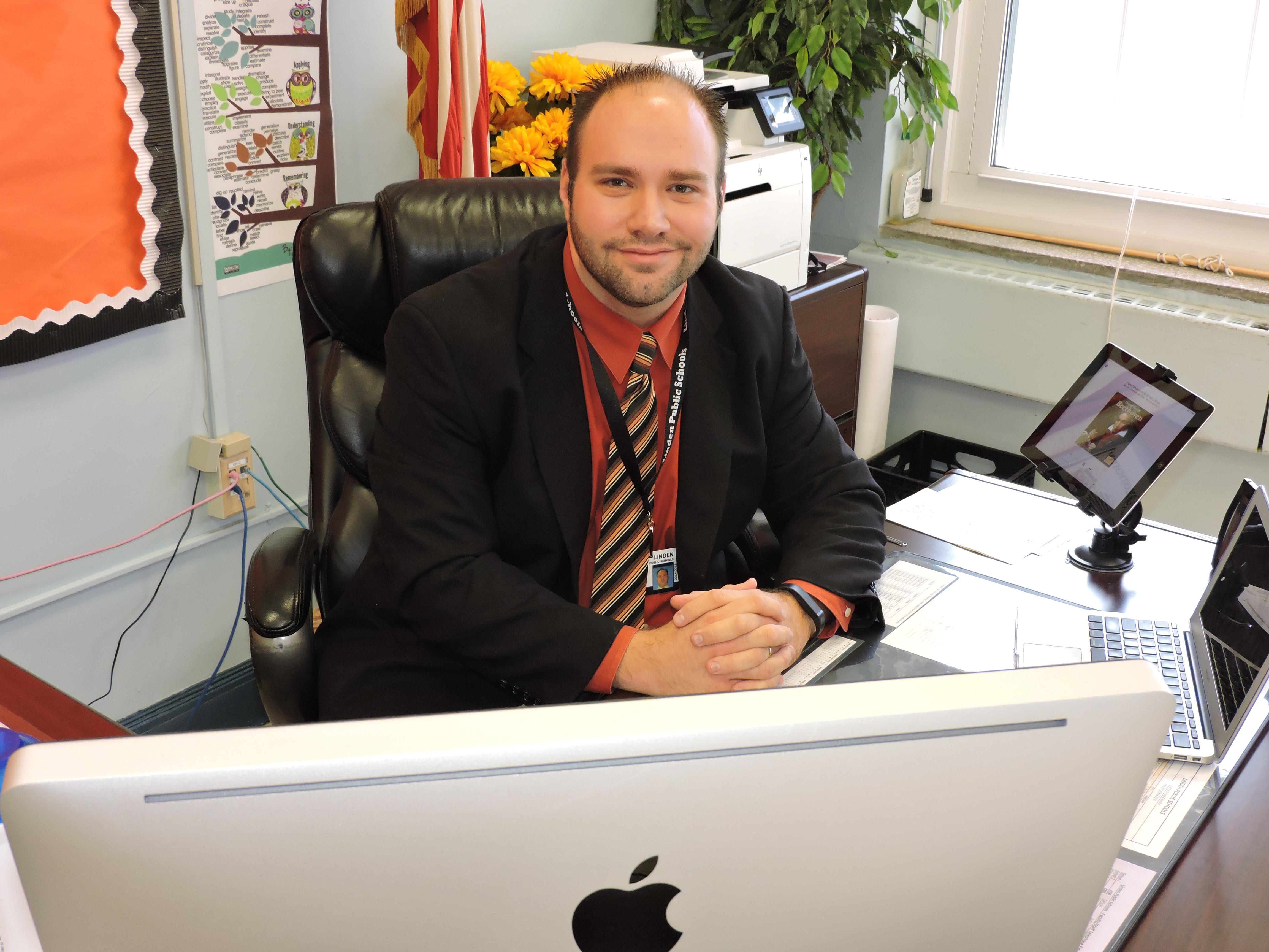 David Walker - Linden High School Vice Principal