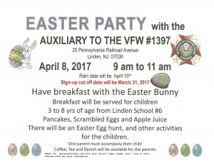 VFW Easter Party