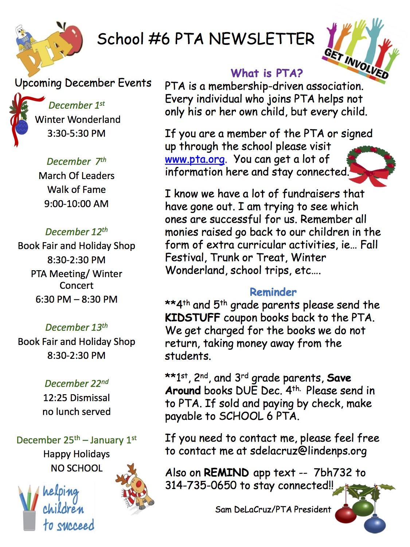 School 6 Parent Resources