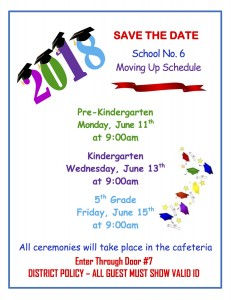 SAVE THE DATE - 3 grades