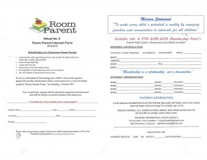 PTA Parent Sign Up