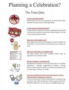 Nurse's Treat Quiz