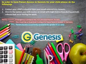 Parent Access Genesis Instructions1