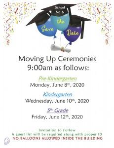 Graduation Dates 2020